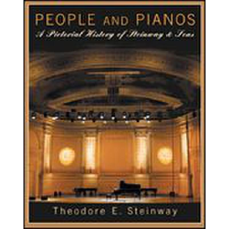 Titelbild für HL 331667 - PEOPLE AND PIANOS