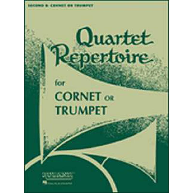 Titelbild für HL 4473850 - QUARTET REPERTOIRE FOR TRUMPET