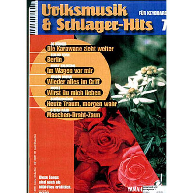 Titelbild für MF 3007 - VOLKSMUSIK + SCHLAGERHITS 7