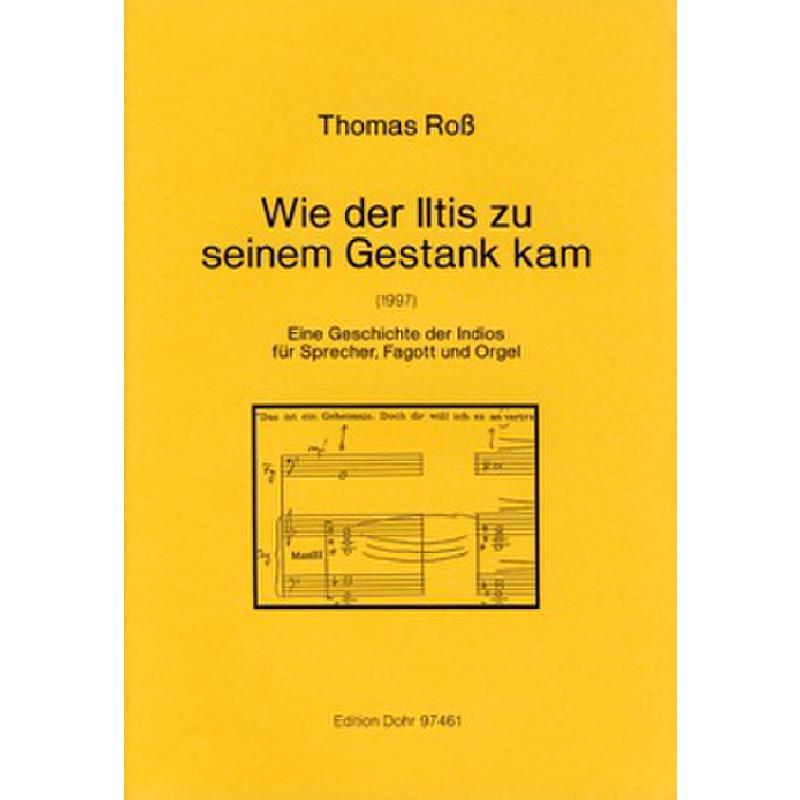 Titelbild für DOHR 97461 - WIE DER ILTIS ZU SEINEM GESTANK KAM (1997)