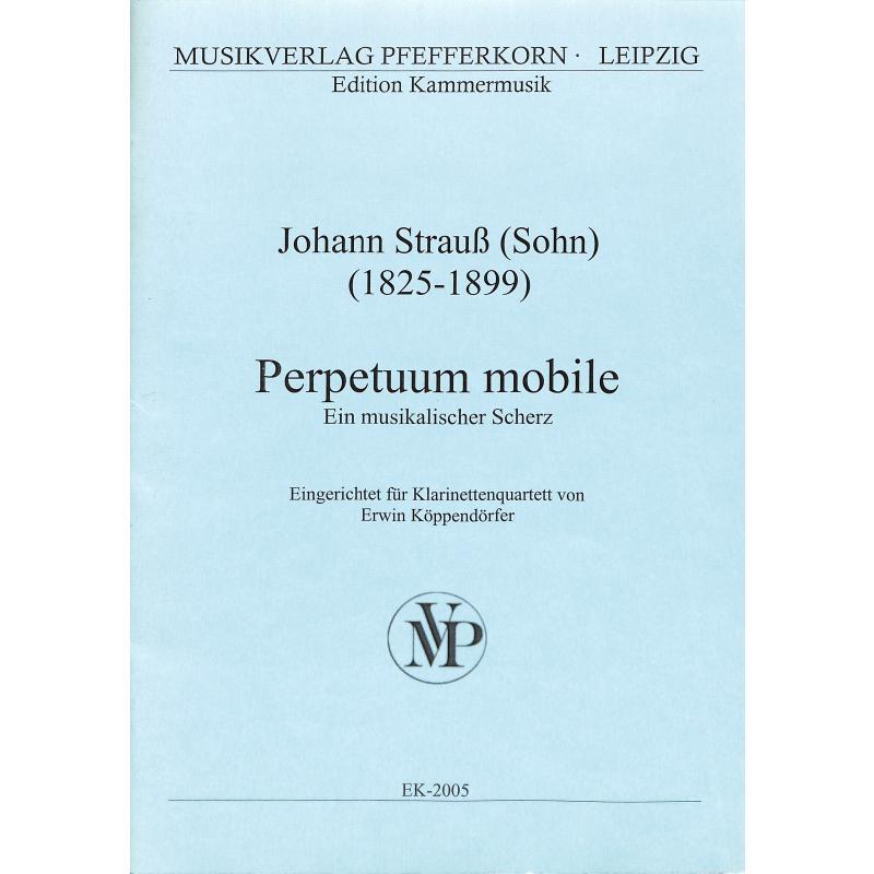 Titelbild für EK 2005 - PERPETUUM MOBILE OP 257 - EIN MUSIKALISCHER SCHERZ