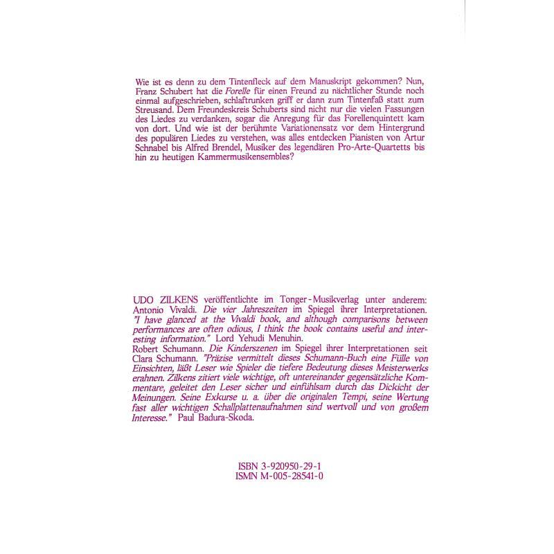 Notenbild für PJT 2854-1 - FRANZ SCHUBERT - VOM KLAVIERLIED ZUM KLAVIERQUINTETT