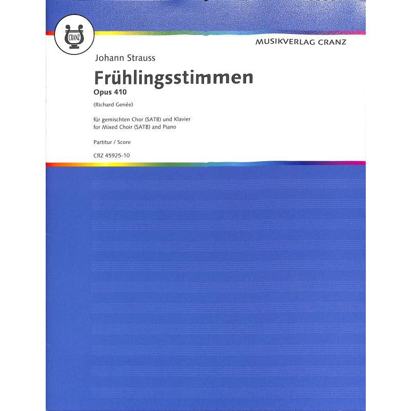 Titelbild für CRZ 45925-10 - FRUEHLINGSSTIMMEN WALZER OP 410