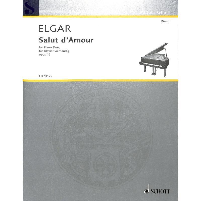 Titelbild für ED 11172 - SALUT D'AMOUR OP 12