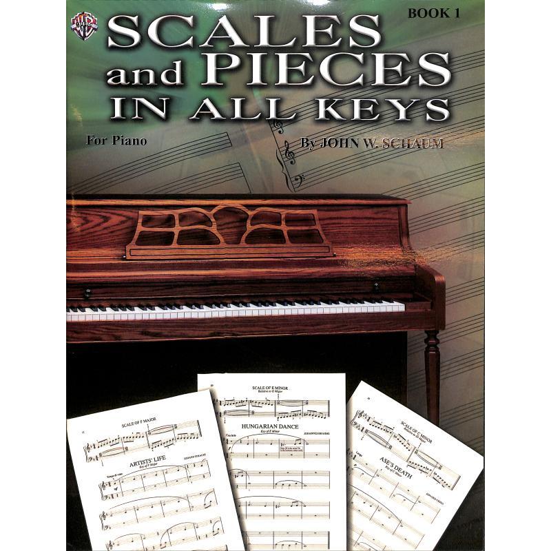 Titelbild für EL 00217A - SCALES + PIECES IN ALL KEYS 1