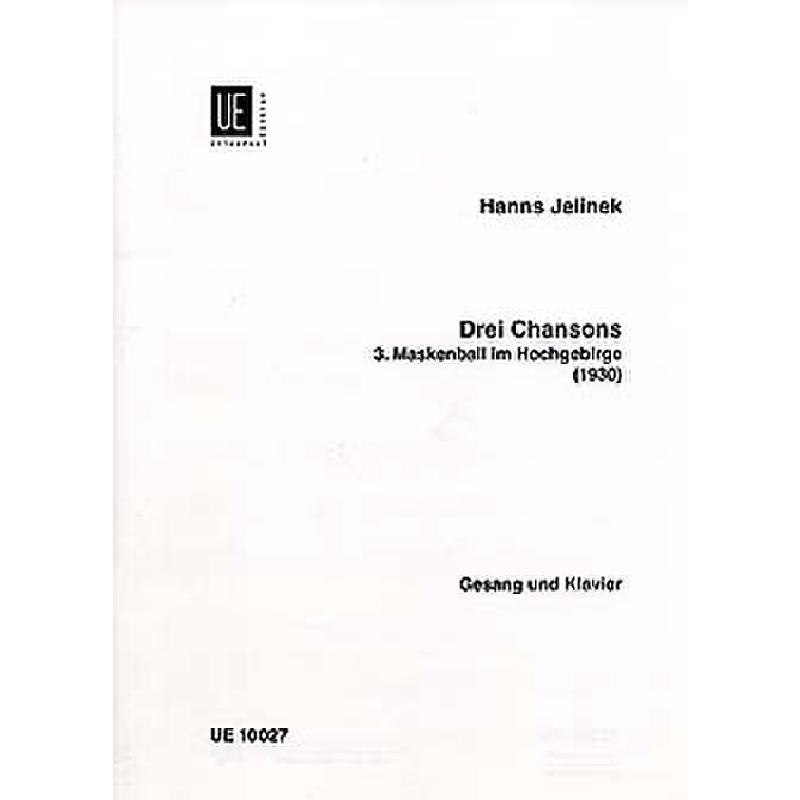 Titelbild für UE 10027 - MASKENBALL IM HOCHGEBIRGE