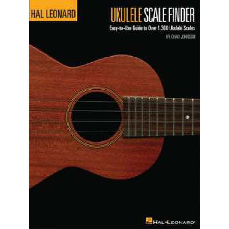 Titelbild für HL 696378 - UKULELE SCALE FINDER