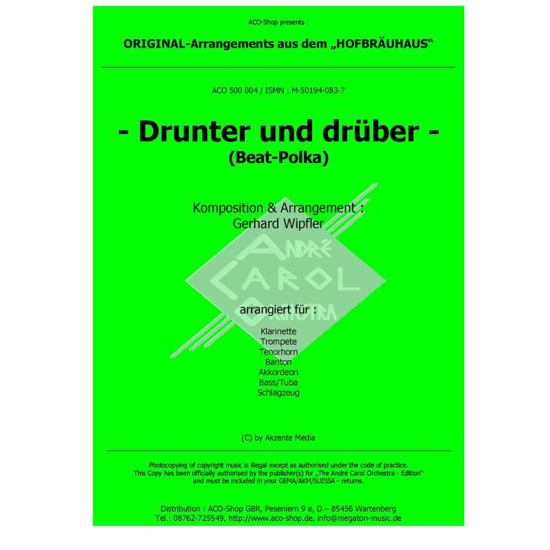 Titelbild für ACO 500004 - DRUNTER UND DRUEBER