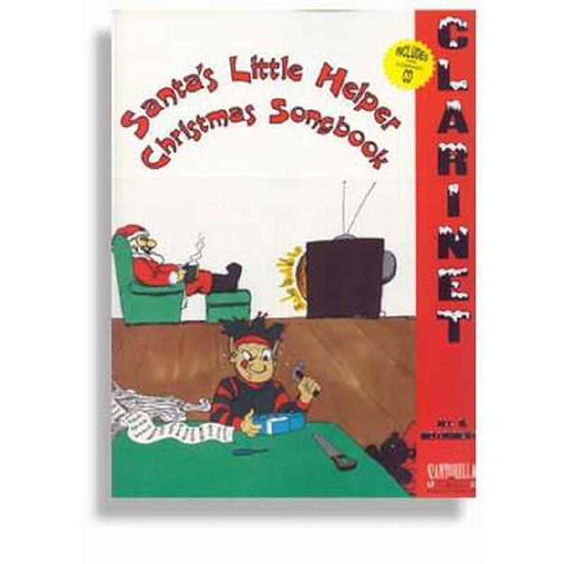 Titelbild für SANTOR -TS175WCD - SANTA'S LITTLE HELPER - CHRISTMAS SONGBOOK