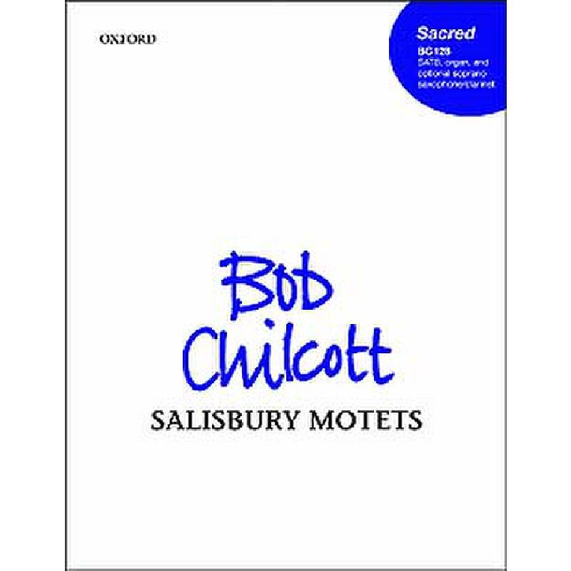 Titelbild für 978-0-19-336884-2 - SALISBURY MOTETS