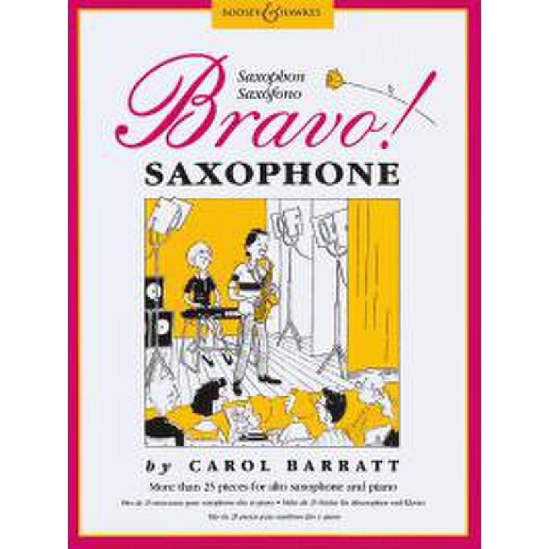 Titelbild für BH 2400325 - BRAVO SAXOPHONE