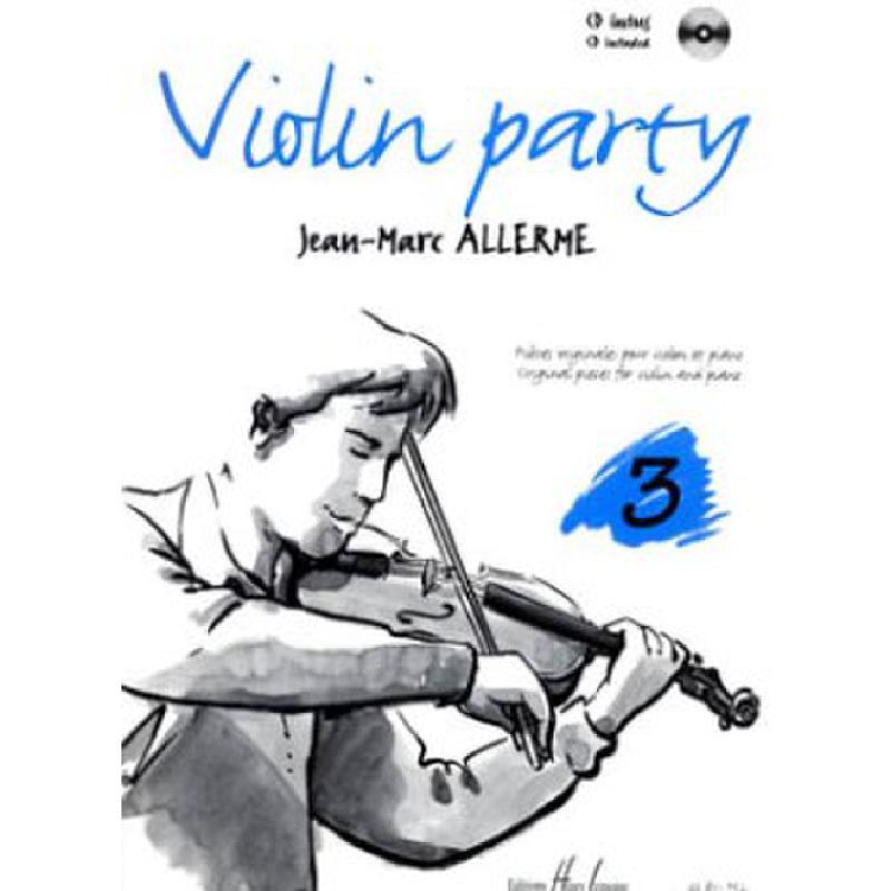 Titelbild für LEMOINE 26851 - VIOLIN PARTY 3