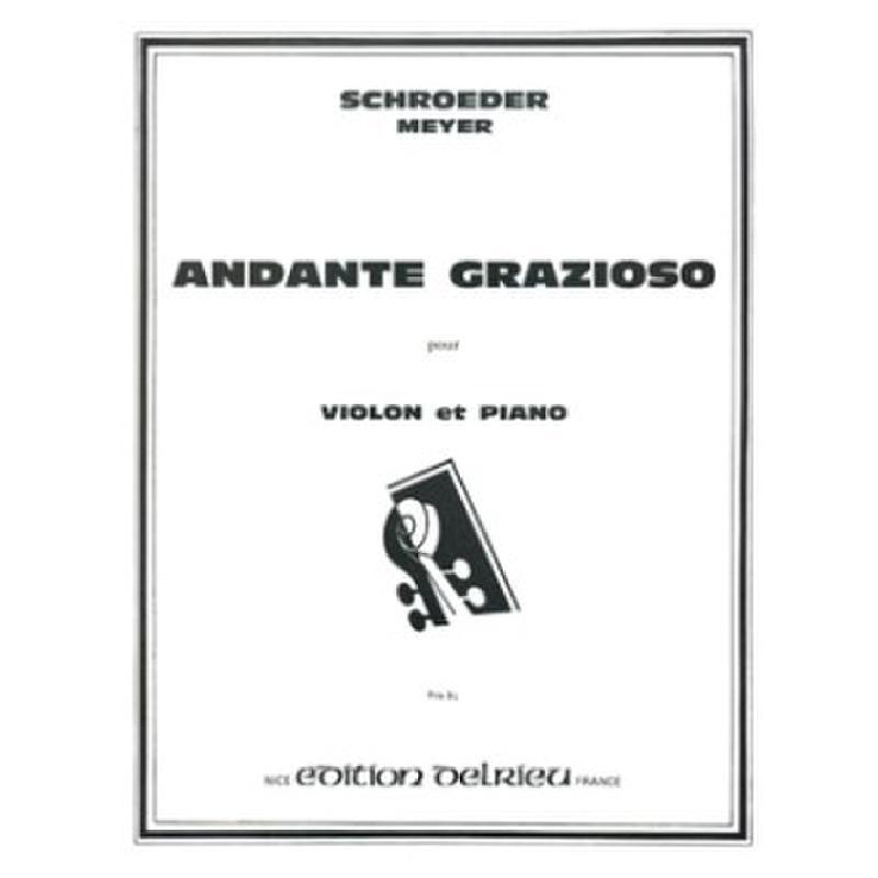 Titelbild für DELRIEU 1363 - ANDANTE GRAZIOSO