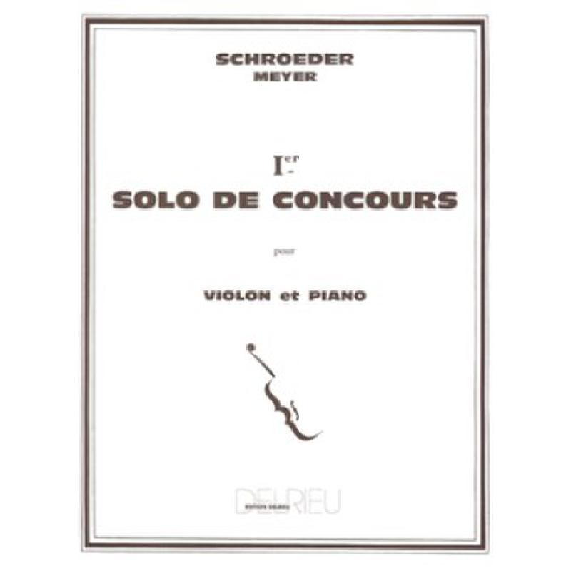 Titelbild für DELRIEU 1352 - SOLO DE CONCOURS 1