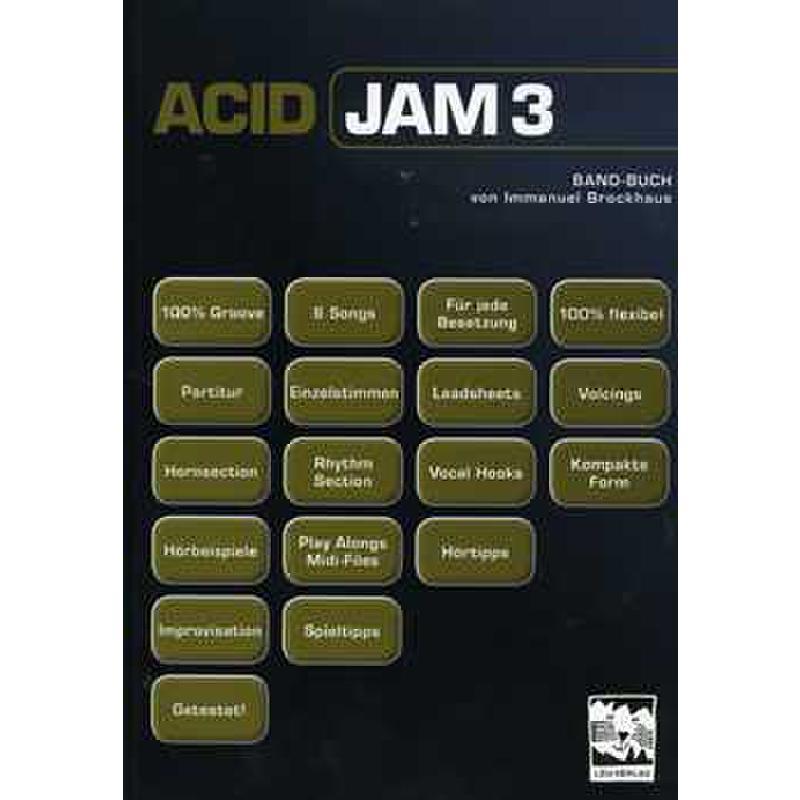 Titelbild für LEU 122-4 - ACID JAM 3 BAND BUCH