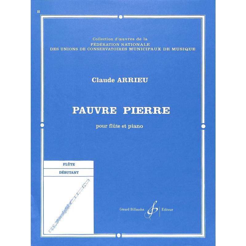 Titelbild für BILL 1990 - PAUVRE PIERRE