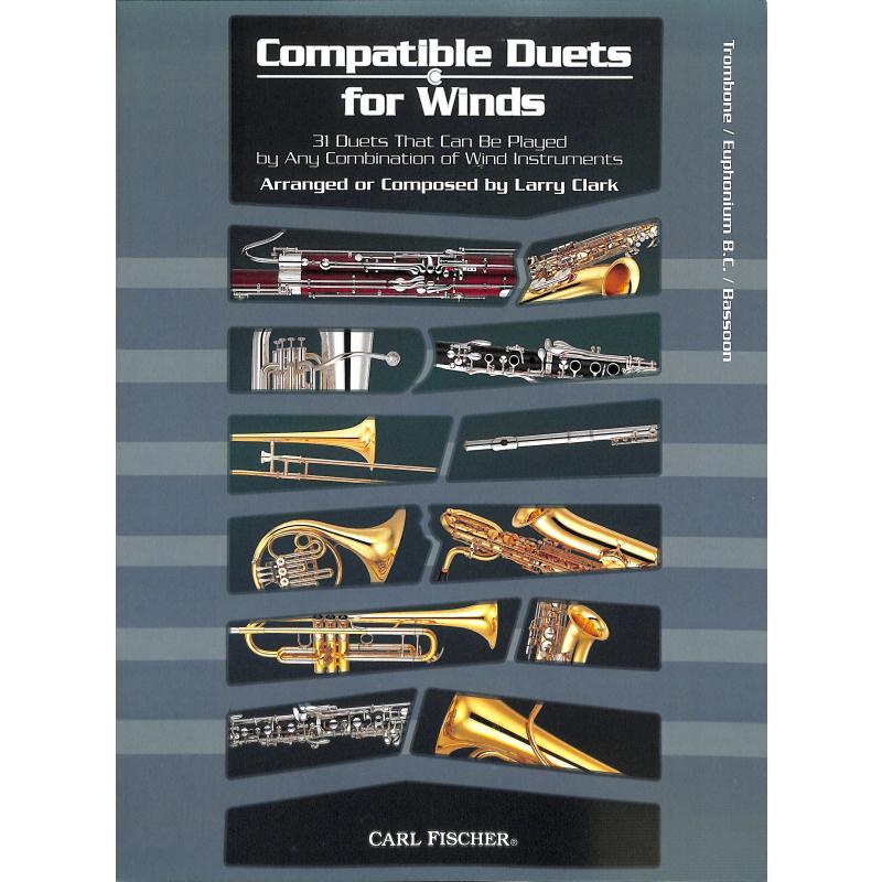 Titelbild für CF -WF96 - COMPATIBLE DUETS FOR WINDS