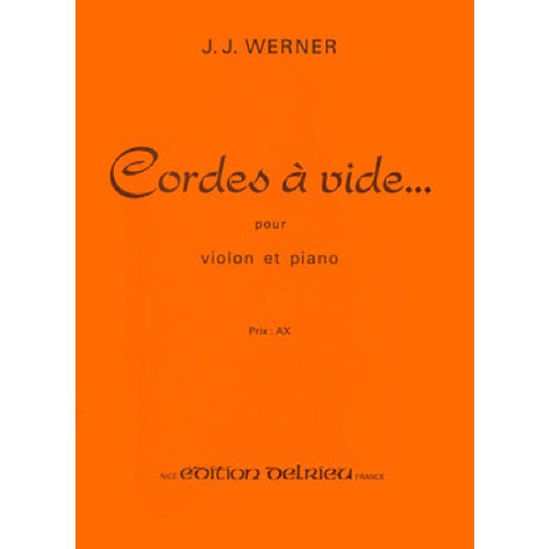 Titelbild für DELRIEU 1479 - CORDES A VIDE