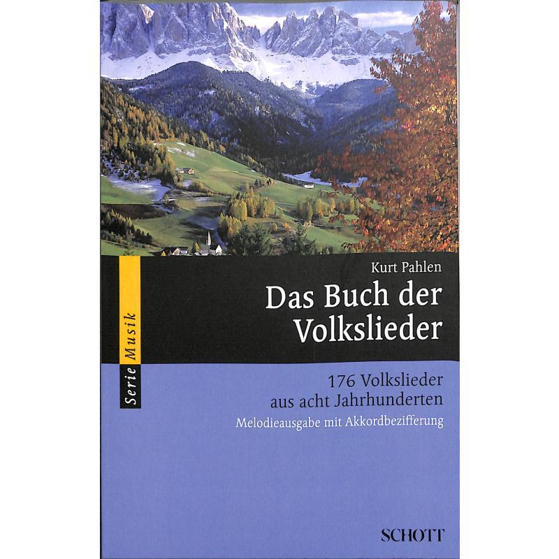 Titelbild für SEM 8371 - DAS BUCH DER VOLKSLIEDER