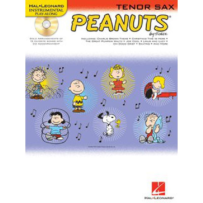 Titelbild für HL 842433 - PEANUTS - 15 SONGS