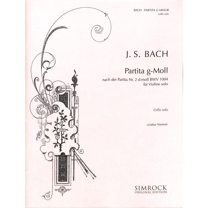 Titelbild für EE 5254 - PARTITA 2 (NACH VL PARTITA D-MOLL BWV 1004)