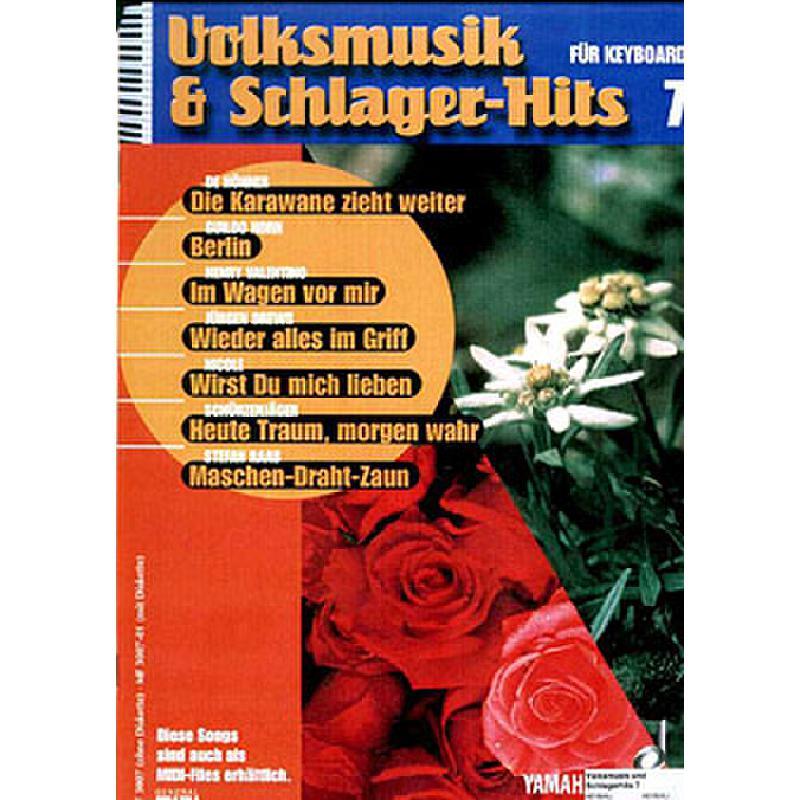 Titelbild für MF 3007-01 - VOLKSMUSIK + SCHLAGERHITS 7