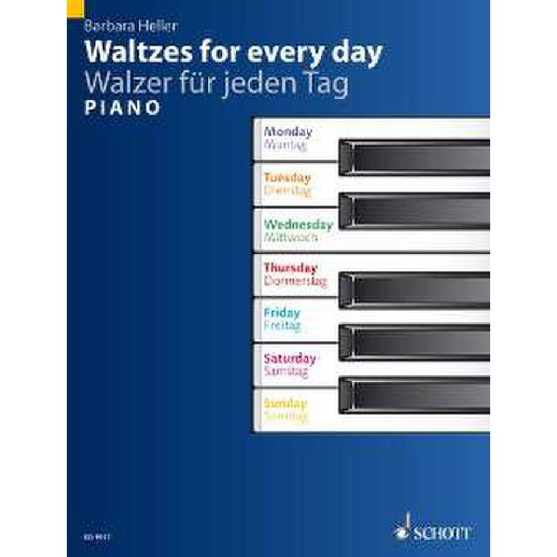 Produktinformationen zu WALZER FUER JEDEN TAG ED 9917