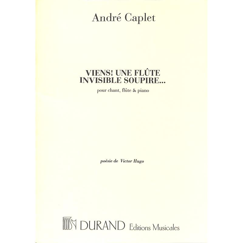 Titelbild für DF 10662 - Viens - une flute invisible soupire