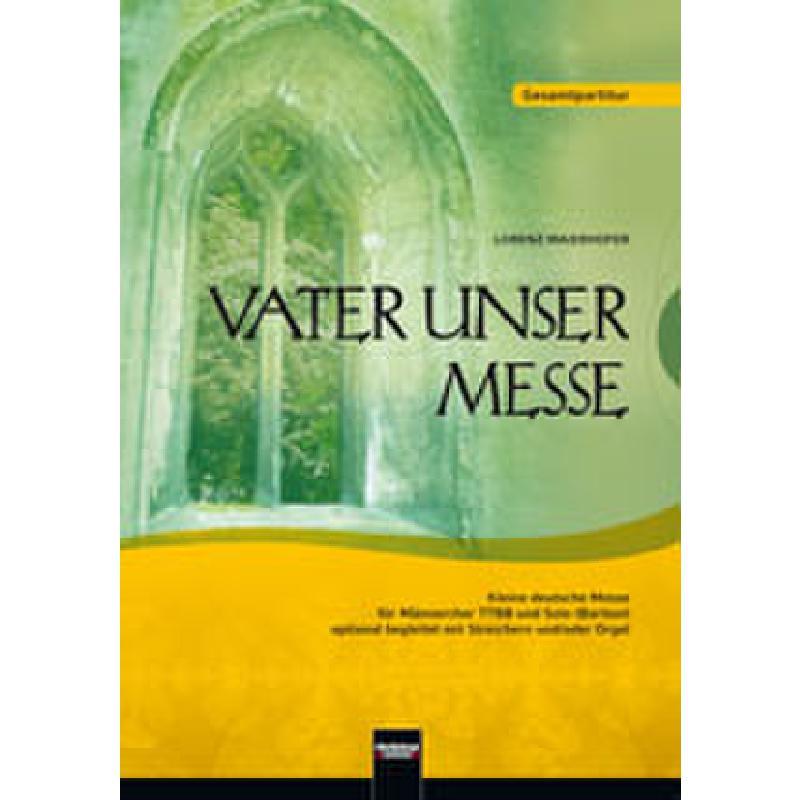 Titelbild für HELBL -C6143 - VATER UNSER MESSE