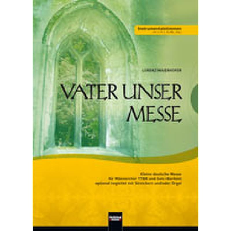 Titelbild für HELBL -C6144 - VATER UNSER MESSE