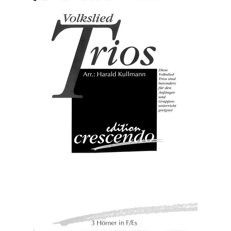 Titelbild für CRESCENDO -ECR9830B - Volkslied Trios
