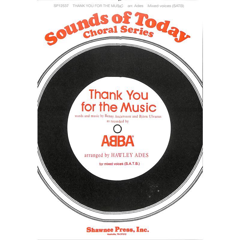 Titelbild für MSSP 12537 - THANK YOU FOR THE MUSIC