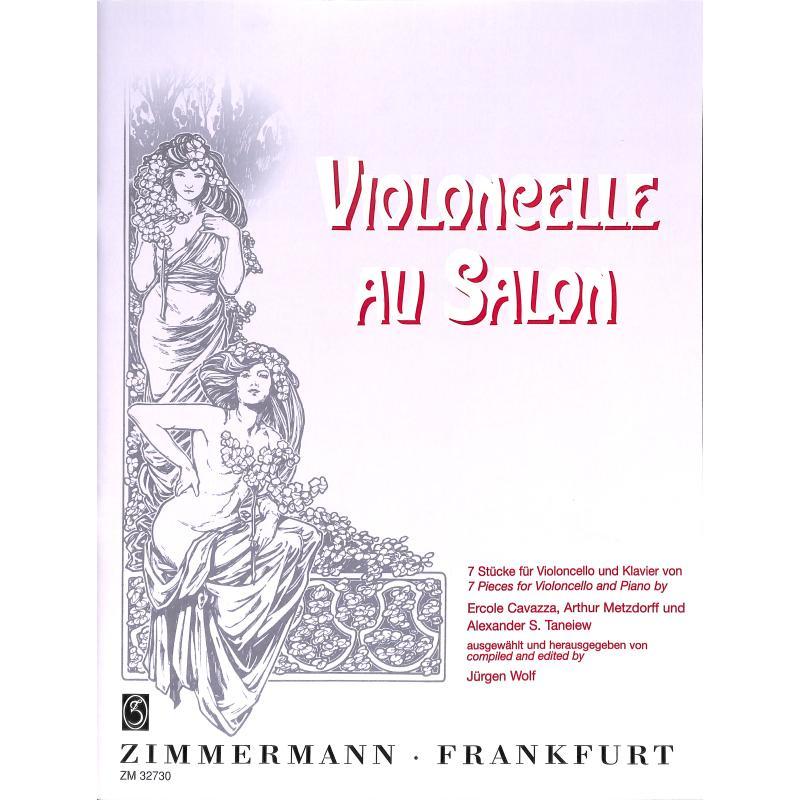 Titelbild für ZM 32730 - VIOLONCELLE AU SALON