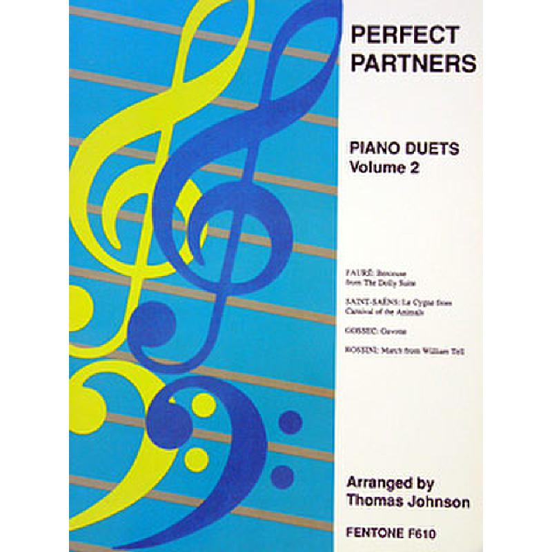 Titelbild für FENTONE 610 - PERFECT PARTNERS 2 - PIANO DUETS