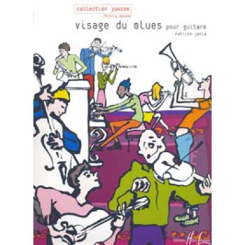 Titelbild für LEMOINE 27147 - VISAGE DU BLUES