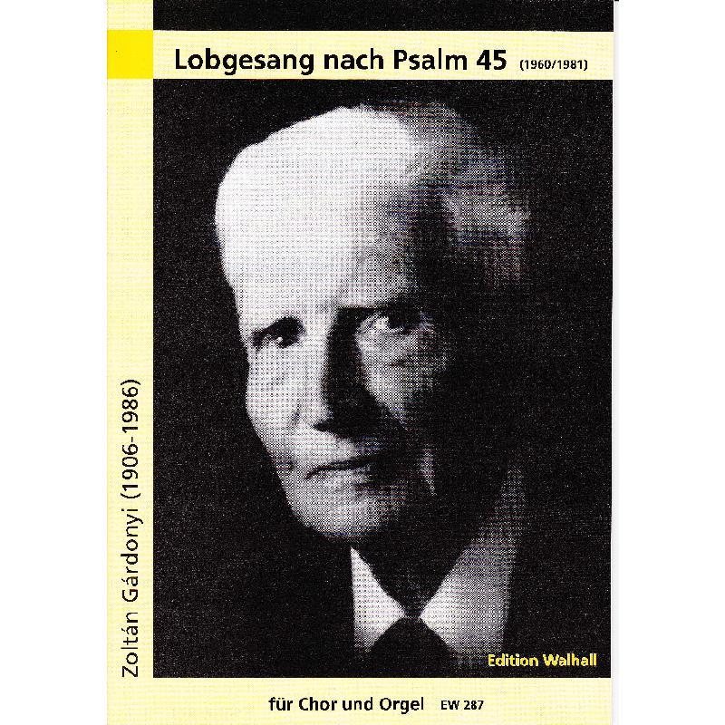 Titelbild für WALHALL 287 - LOBGESANG NACH PSALM 45