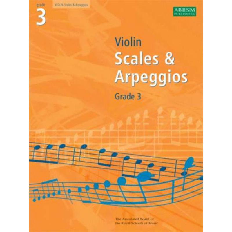 Titelbild für 978-1-84849-341-4 - VIOLIN SCALES + ARPEGGIOS 4