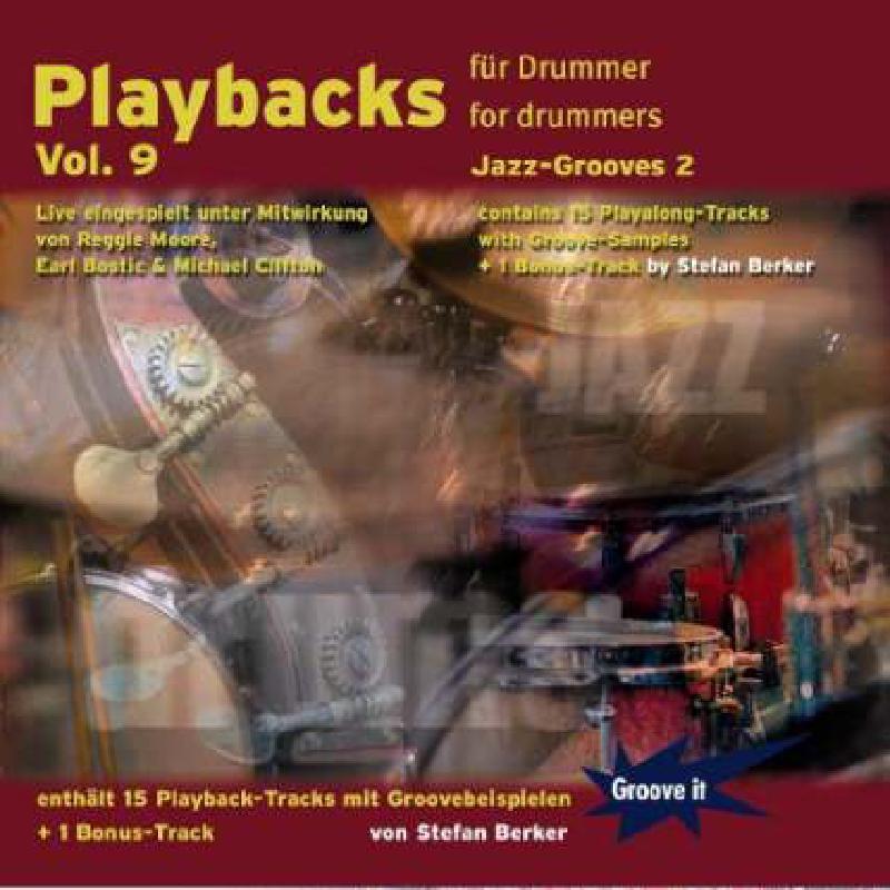 Titelbild für GI 121 - PLAYBACKS FUER DRUMMER 9