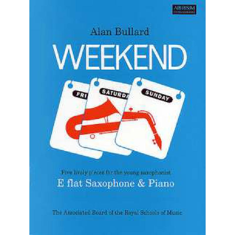 Titelbild für ABRSM 7787 - WEEKEND - 5 LIVELY PIECES