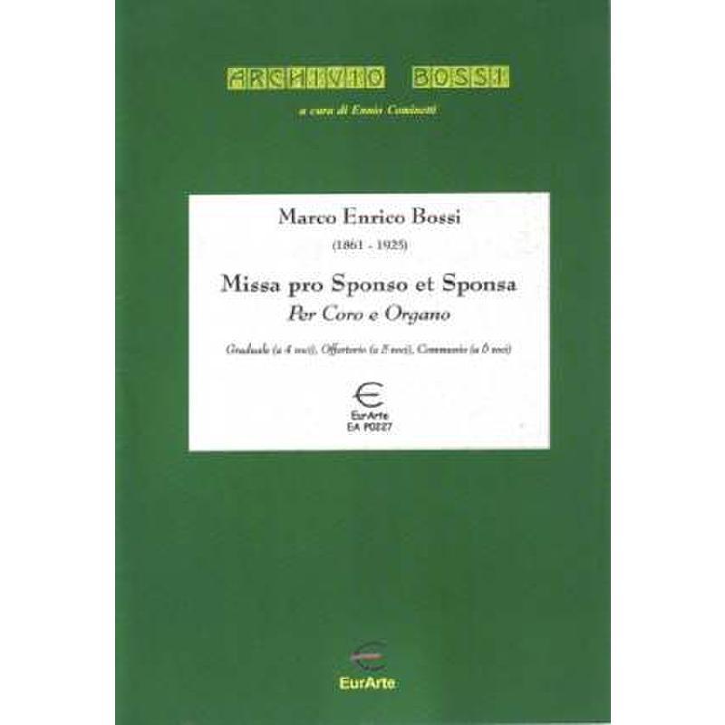 Titelbild für EAP 0227 - MISSA PRO SPONSO ET SPONSA OP 110