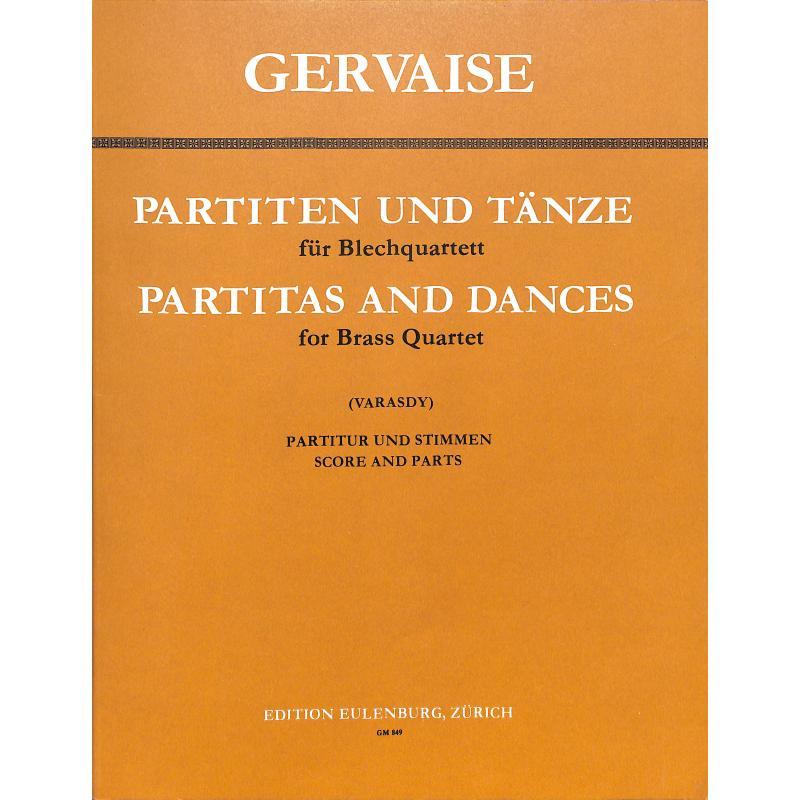 Titelbild für GM 849 - PARTITEN + TAENZE