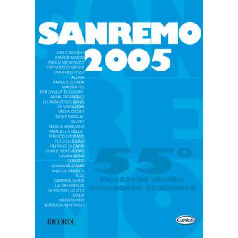 Titelbild für ML 2489 - SANREMO 2005