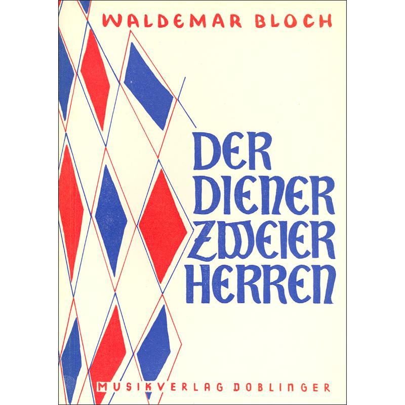 Titelbild für DO 09539 - DER DIENER ZWEIER HERREN (KOMISCHE OPER)