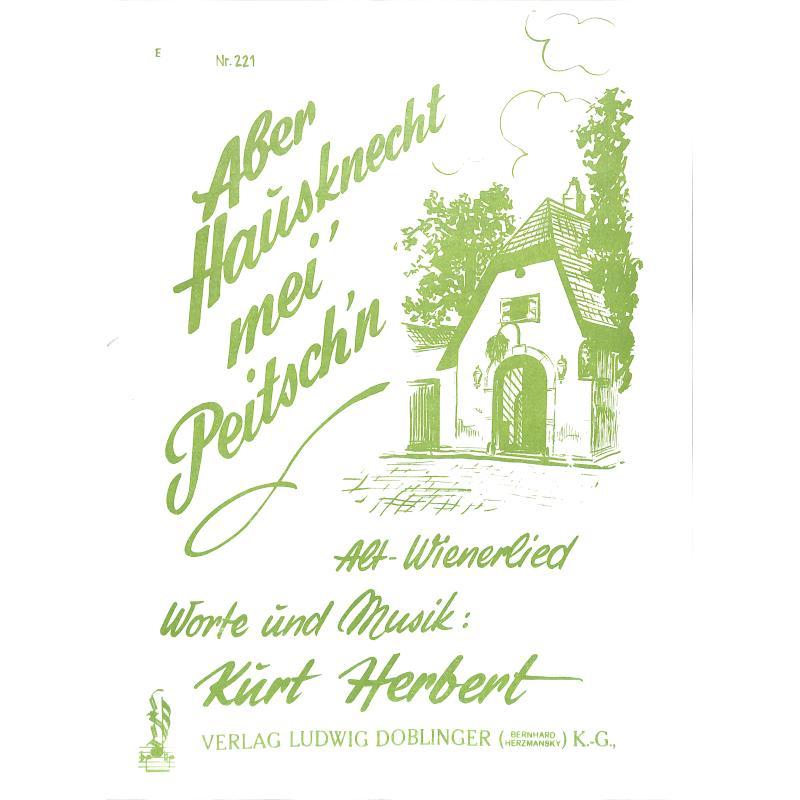 Titelbild für DO 89029 - ABER HAUSKNECHT MEI' PEITSCH'N