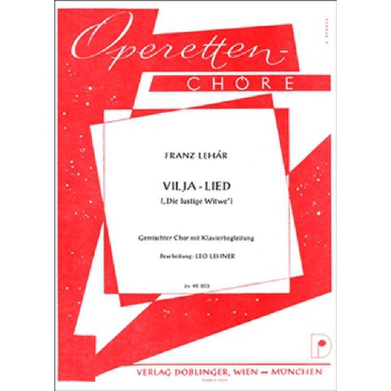 Titelbild für DO 46803-KA - VILJA LIED (DIE LUSTIGE WITWE)