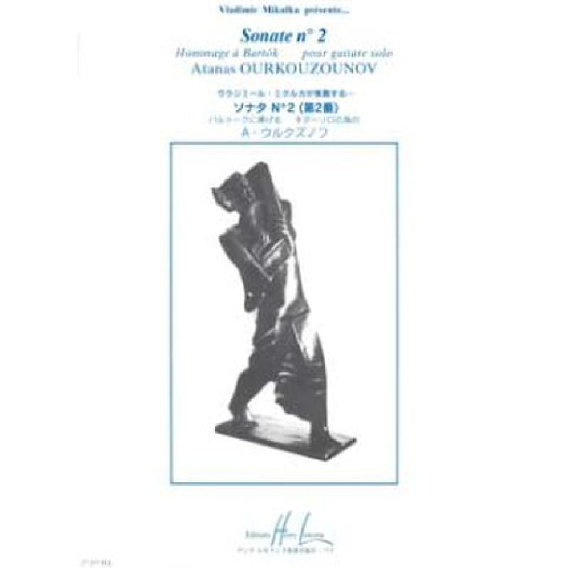 Produktinformationen zu SONATE 2 (HOMMAGE A BARTOK) LEMOINE 27257