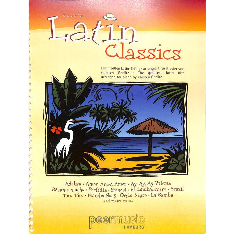 Titelbild für PMV 11184 - Peer's Latin classics