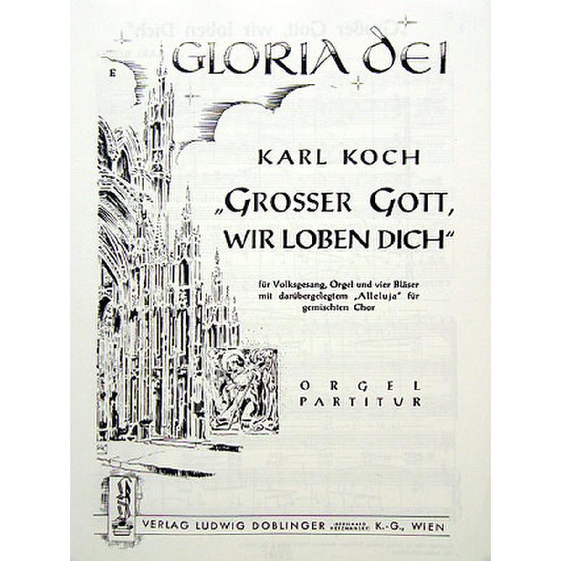 Titelbild für DO 45526-ORG - GROSSER GOTT WIR LOBEN DICH