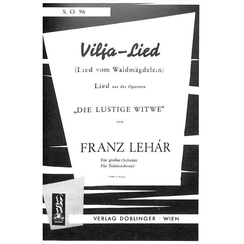 Titelbild für SO 96 - VILJA LIED