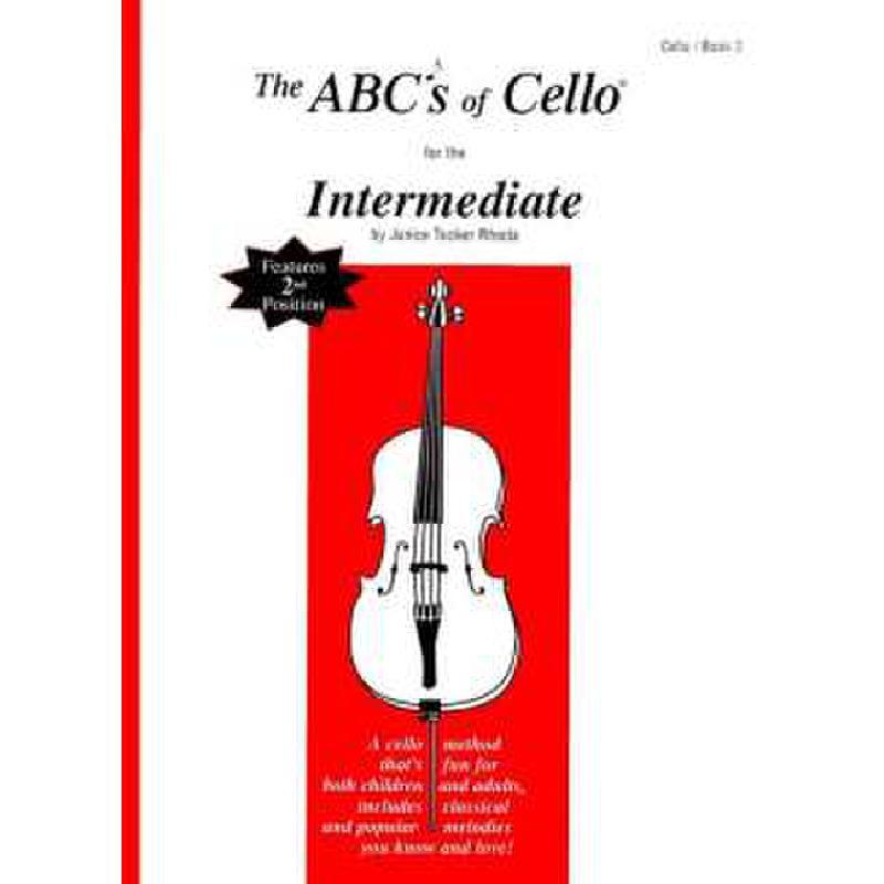 Titelbild für CF -ABC15 - ABC OF CELLO 2 - INTERMEDIATE